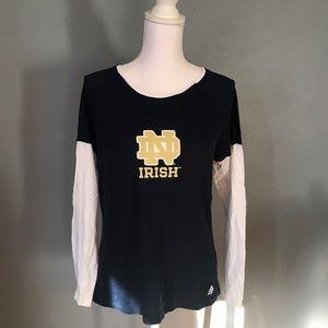 Notre Dame Long Sleeved T-shirt
